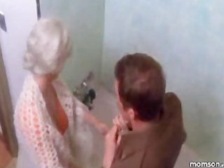 Mom son bath fantasy
