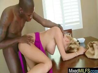 Hard Black Dick Inside Hot Sexy Big Tits Milf