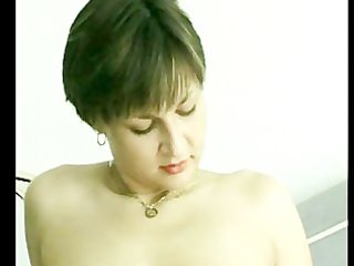 Hot MILF masturbates until she orgasms