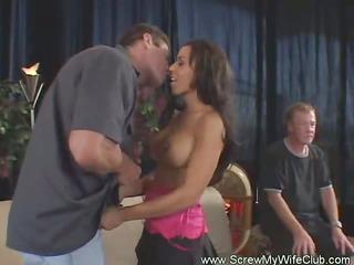 Hot Swinger Wife and Cuckold Husband