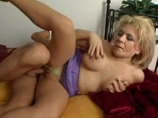 Mature blonde Euro cougar