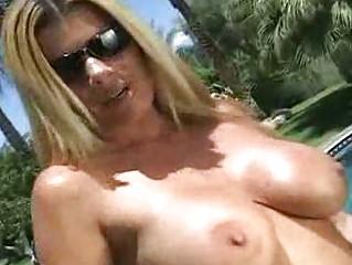 Hot MILFs Get Some Outdoor Black Cock