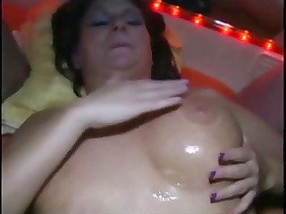 bukkake with busty mature