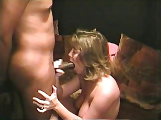 White wife enjoying BBC1 - part 1 of 4