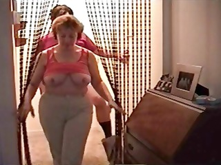 Chubby wife Dianna in different scenes sucking on