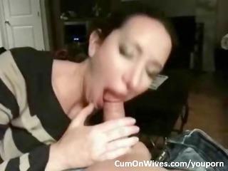 A new amateur MILF blowjob compilation
