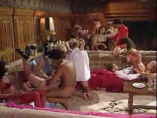 Eighties Hardcore Group Sex Porn with Hot MILFs