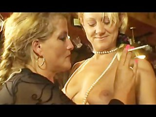 Two Smoking Milfs at some lesbian action.