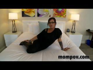 sexy milf gets fucked in her very first adult