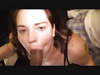 wife deepthroating big black cock