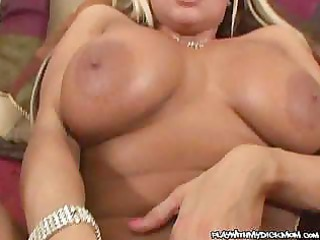 Sex hungry MILF giving this horny dude an awesome