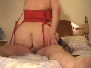 Hot Liz Aunt Having Sex In Her Bedroom