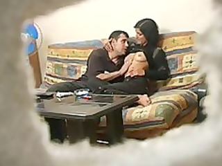 Amateur Turkish wife with russian man while hubby