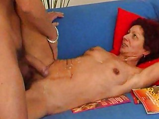 Mature finds stud irresistiable