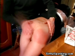 Mature Honey Spanked