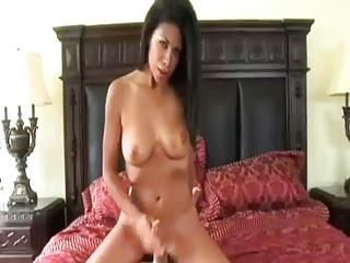 Horny Mom Giving A Handjob By TROC