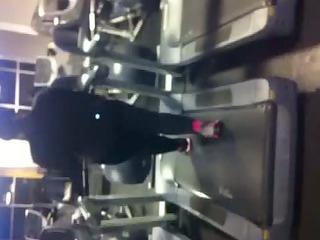 Fat Ass on Treadmill 2