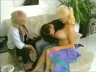 German mature threesome