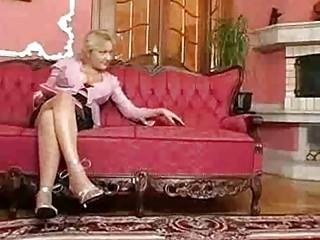 Hot euro busty granny