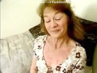 Wrinkly Granny off the Street in a Gangbang