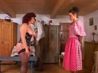 German Mature Amateur Gets Double Anal Fisting