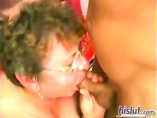 This grandma got fucked