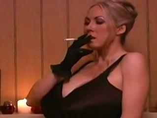 Cigarette fetish 2 mature ladies