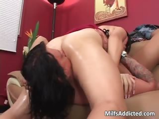 Asian MILF plays naughty games part1