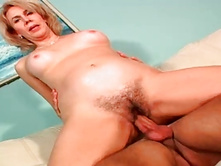 Hairy Mature Enjoys Anal By TROC