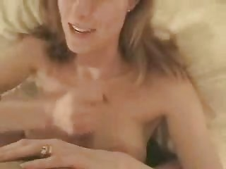 hot mom sucking big cock and getting a facial