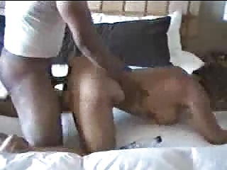An outrageous fuck: slutty wife gets pounded by