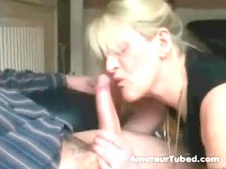 Mature blowjob big cumshots