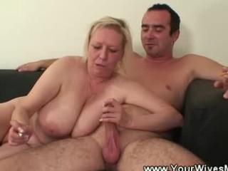 Horny smoking mature sex