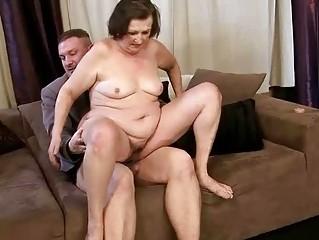 Ugly granny getting fucked pretty hard