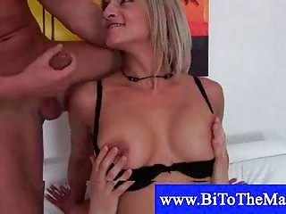 Bisexual muscled italian fuck his wife