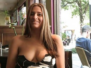Patricia hot milf with sunglasses flashing tits