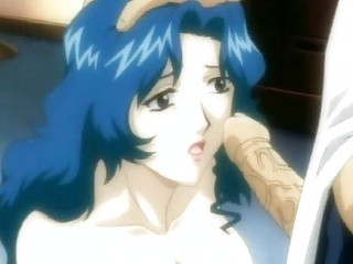 Hentai milf doing blowjob in sixtynine