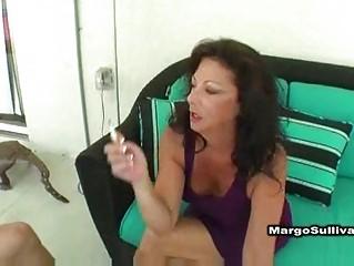 Hot mature margo smoking sex