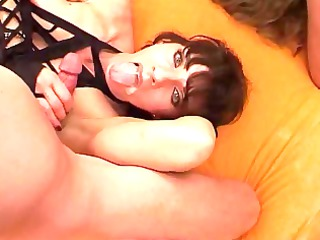 Gangbang for 2 Xtreme horny Milfs