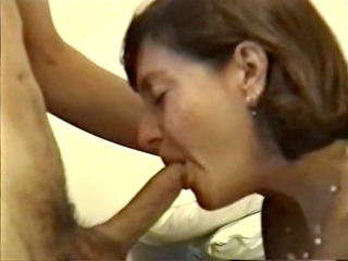 Mature Babe Giving Hot Blowjob