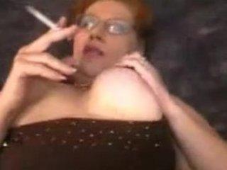 fat mom smoking sex