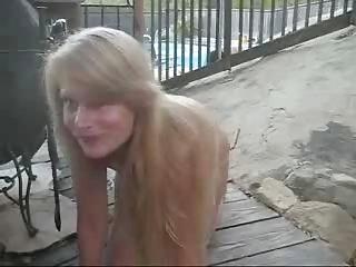 Nudist Milf Bridgit, sex in public
