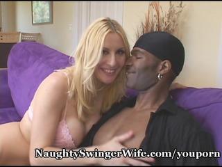 Hot Blonde Wifes Naughty Black Fantasy