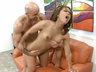 muscular man fucking his wife and yells hardcore