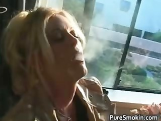 Blond MILF with huge juggs doing part3