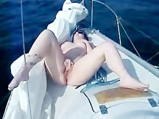 Heavy cum showers during Our Boat holiday
