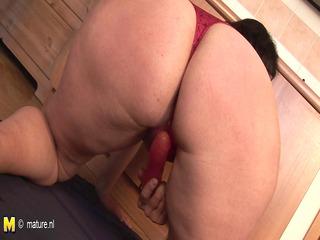 Amateur housewife Marietta gets nasty in her