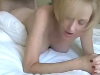 British mature blonde milf