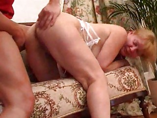 blonde mom get her arse reamed hard