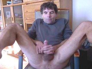 just another mature solo cumming